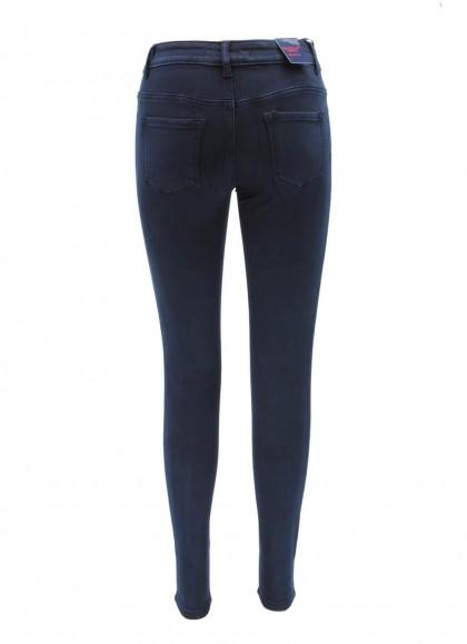 Blugi Re-Dress skinny albastru inchis