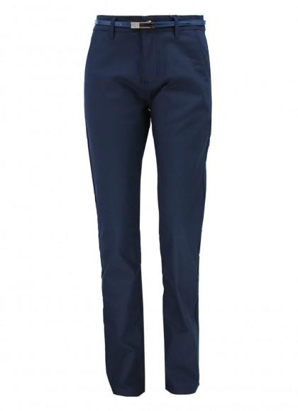 Pantaloni dama bleumarin marime mare M.Sarah Fashion