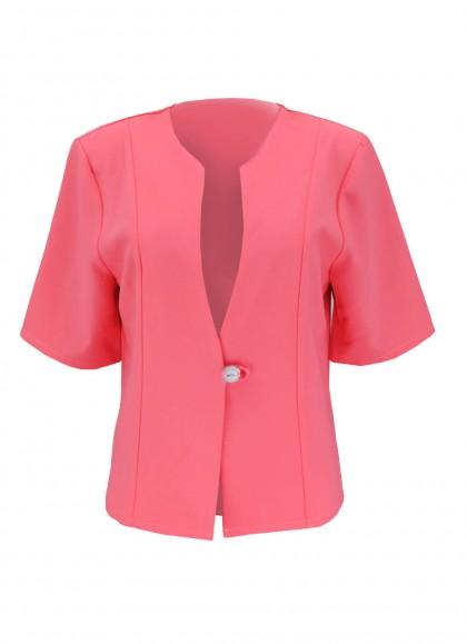 Sacou roz elegant office