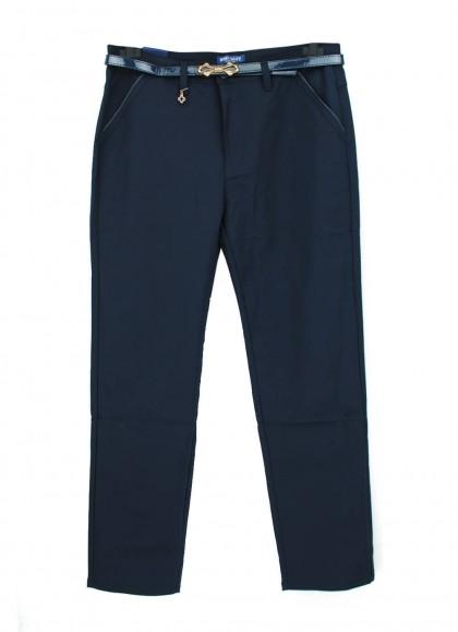 Pantaloni dama clasici bleumaren marime mare