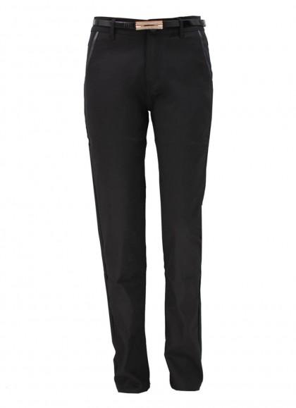 Pantaloni dama clasic marime mare negru