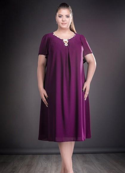 Rochie de seara marime mare violeta