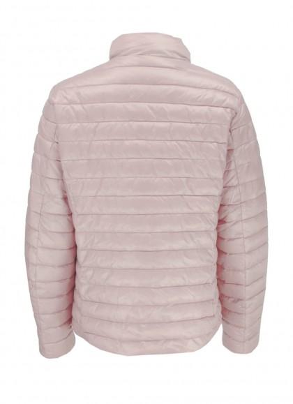 Jacheta dama fas cu doua fete culoare roz
